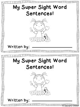 Scrambled Sight Word Sentences Dolch First Grade by