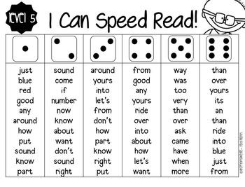 Speed Read {All Year Long!} by Droppin' Knowledge with