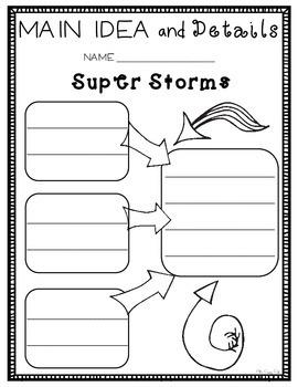 2nd Grade Journeys Super Storms: Unit 2 Lesson 8