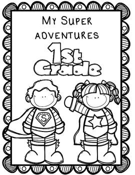 Superhero Memory Book: Editable Memory Book Kinder thru
