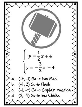 Superhero Systems Scavenger Hunt: by All American Teachers
