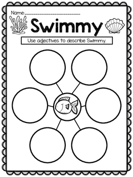 Swimmy {Writing Prompt and Graphic Organizer} by Kinder