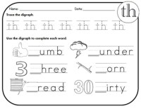TH Digraph Worksheets! by Kindergarten Swag | Teachers Pay ...