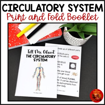 THE CIRCULATORY SYSTEM Foldable Mini Book for Interactive