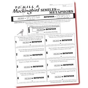 To Kill A Mockingbird Worksheet Answers