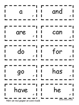 SIGHT WORDS Practice and Assessments by In the Land of