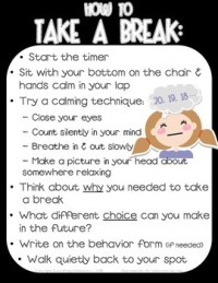 Take a Break / Thinking Chair Poster - Responsive ...