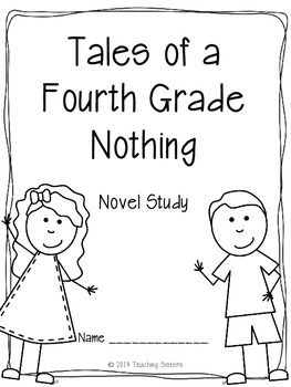 Tales of a Fourth Grade Nothing Literature Unit by The