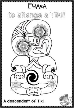 Te Reo Maori Whakatauki colouring pages #2 by Michele
