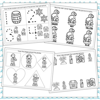 Pirates Go To School Toddler Curriculum by Little Owl