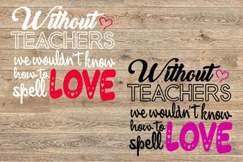 Download Teacher Svg Live Love Teach svg Valentines day Whithout ...