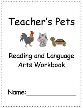 Teacher's Pets ~ Language Arts Workbook ~ 2nd Grade ~ HMH