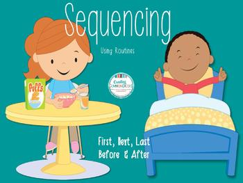 Teaching Concepts And Sequencing First Next Last