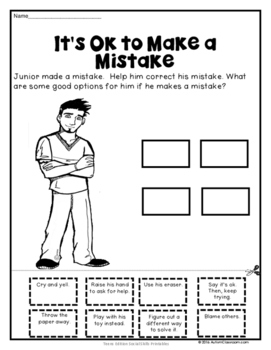 Teen's Edition Social Skills Activities and Printables for