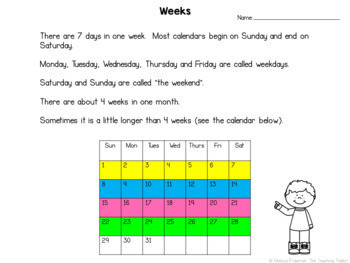 Telling Time Unit for Grade 1 (Ontario Curriculum) by The