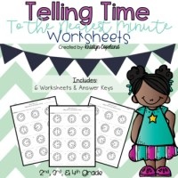 Telling Time to the Minute Worksheets by Copeland's Got ...