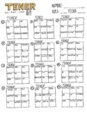 Spanish Verb Conjugation Worksheets Teaching Resources