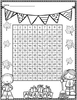 Tens and Ones Place Value Mystery Picture (Fall Tree) 1