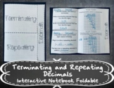 Terminating And Repeating Decimals Worksheets & Teaching