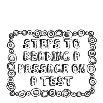 Test Taking Strategies for a Reading Test-- BILINGUAL by