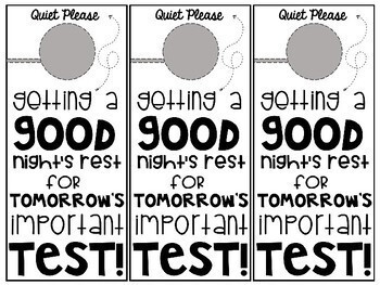Testing Motivation Pack by Miss Smith-Create Inspire Teach