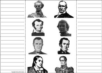 Texas Revolution Foldable: Battle of the Alamo, Davy