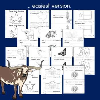 Texas Symbols Book Differentiated Guided Readers by Paula
