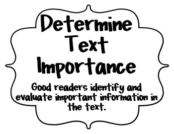 Text Comprehension & Metacognitive Strategy Posters! by me