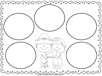 Thanksgiving 5 Senses Writing Freebie by Lauren and