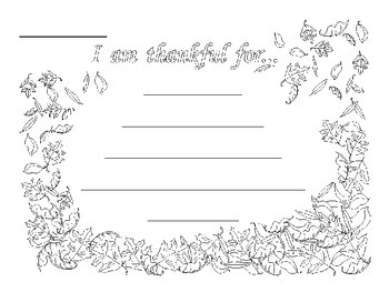 Thanksgiving Cinquain Poem Templates by The Bookworm