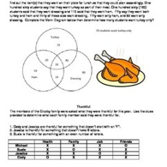 Venn Diagram Puzzles Coleman Tent Trailer Wiring Thanksgiving Logic And By Volunteacher Tpt