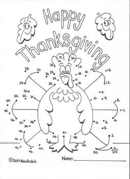 Thanksgiving Math Worksheets for Kindergarten Fun by