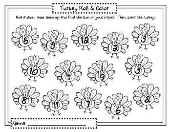 Thanksgiving Math and Literacy Centers- CC aligned by