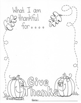 Thanksgiving writing worksheets and activities by