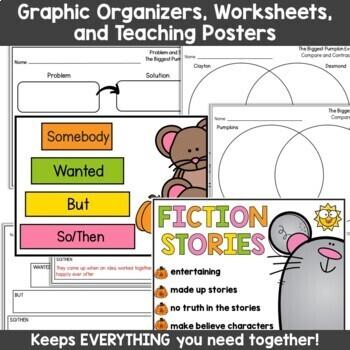 The Biggest Pumpkin Ever Activities: Read Aloud Book