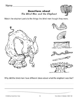 The Blind Men and the Elephant by Evan-Moor Educational