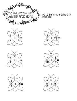 The Butterfly Method for Fractions with Journal Cutouts