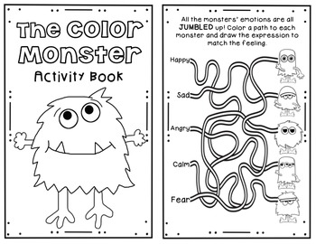 The Color Monster- A Book Companion by The School