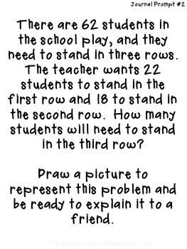 The Common Core Classroom Guide to 2.OA.1: Word Problems