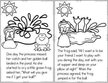 The Frog Prince (Retelling Cards, Pocket Chart Activities