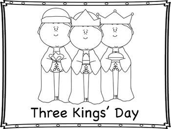 The Epiphany Mini Book and Coloring pages by Miss P's PreK