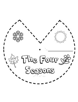 The Four Seasons Wheel NGSS ESS1.B by The K-5 Science