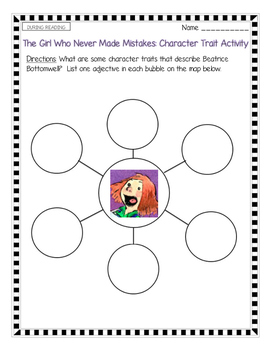The Girl Who Never Made Mistakes--Growth Mindset Reading
