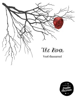 The Giver Final Assessment by Carolyn's Creative Classroom