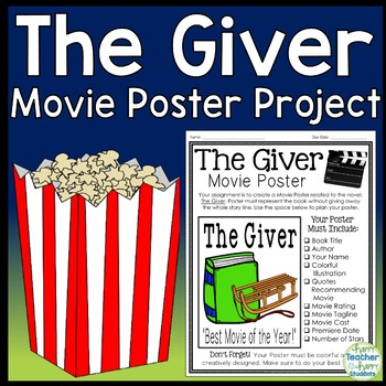 The Giver Project Teaching Resources Teachers Pay Teachers