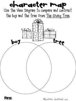 The Giving Tree by Shel Silverstein Literacy/Writing