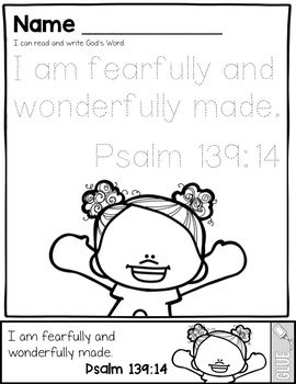GOD MADE ME BIBLE LESSONS UNIT: GOLDEN RULE, I AM SPECIAL