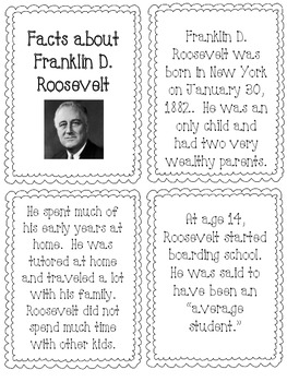 The Great Depression and World War II Printables by Laura