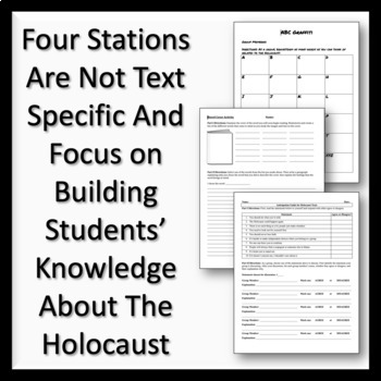 Stations for Previewing Holocaust Texts & Night by Elie
