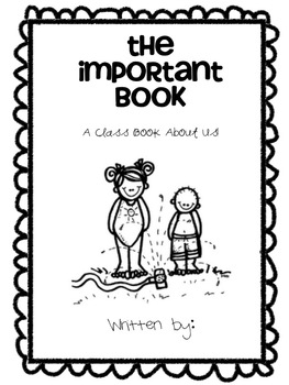 The Important Book-3 Writing Lessons by Alissa Manning